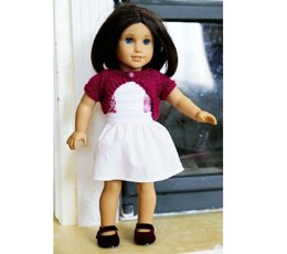 """18"""" Doll Cropped Sweater"""