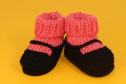 Booties Knitting Patterns Loveknitting