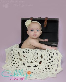 Doily Blanket Photo Prop