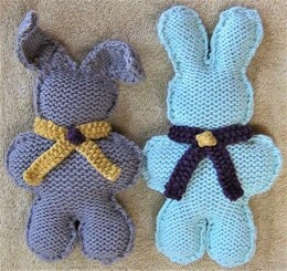 Two Rabbits Sweet as Bunnies