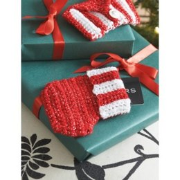 Gift Card Stocking in Bernat Happy Holidays