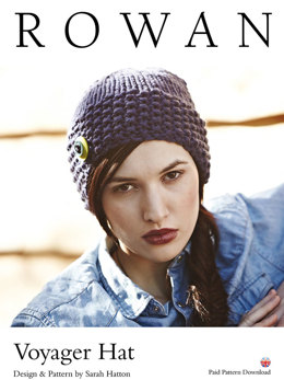 Voyager Hat in Rowan Big Wool - D161 - Downloadable PDF