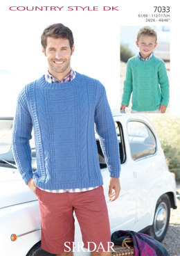 Sweaters in Sirdar Country Style DK - 7033
