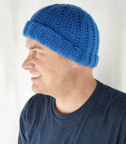 Truckee River Hat in Cascade Yarns Pacific Chunky - C359 - Downloadable PDF