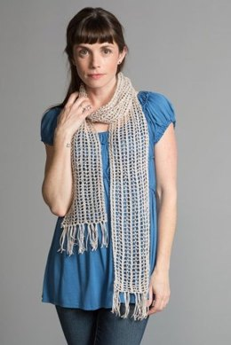 Mesh Scarf in Classic Elite Yarns Calista