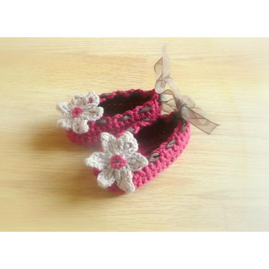 Flower Fairy Baby Shoes