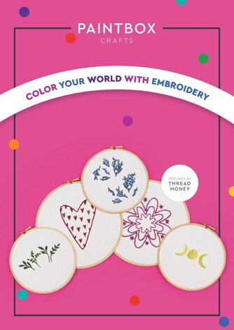 Paintbox Crafts Colour Your World With Embroidery Patterns