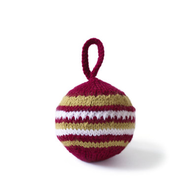 Holiday Ball in Lion Brand Wool-Ease - 70651AD