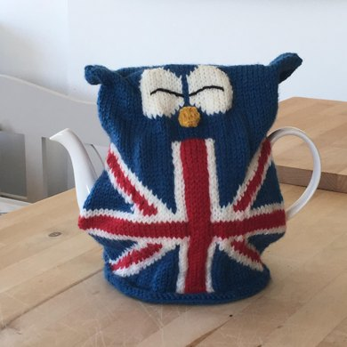 Great British Owl Tea Cosy Knitting Pattern By Julie Richards