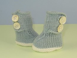 Baby 2 Button Booties