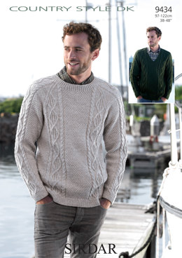 Sweaters in Sirdar Country Style DK - 9434