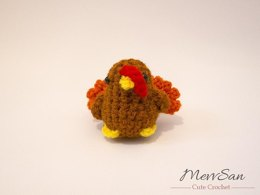 Amigurumi Tiny Tom Turkey