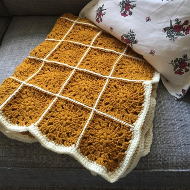 Granny Circle To Square Crochet Pattern By Gina Marquis
