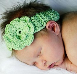 Baby Headband with Flower
