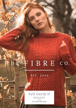 Beckside Jumper in The Fibre Co. Arranmore Light - Downloadable PDF
