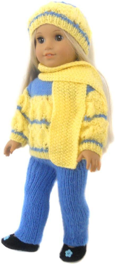 Winter Cozy For American Girl Gotz And Other 18 Dolls