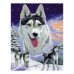 Royal Paris The Lord Of The Snow Tapestry Canvas - Multi