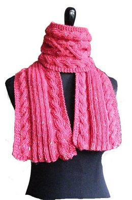 Riverport cable scarf