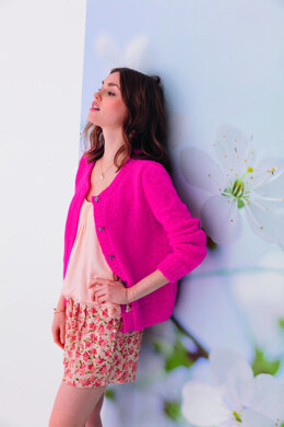 Fabiola Cardigan in Phildar Phil Light & Phil Coton 3 - Downloadable PDF
