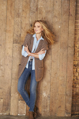 Jacket and Waistcoat in Stylecraft Alpaca Tweed Chunky - 9321