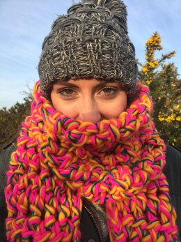 Super Snuggly Stash Busting Chunky Scarf