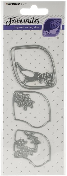 Studio Light Favourites Layered Cutting & Embossing Die - 568959