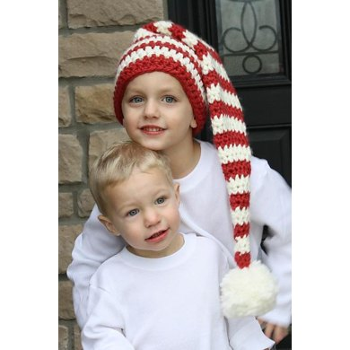 Bulky Weight Crocheted Holiday Stocking Cap