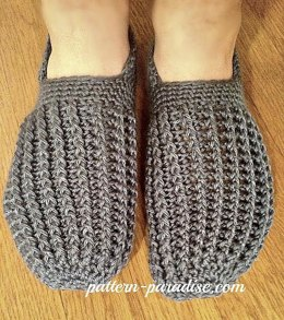 Men's Textured Slippers or House Shoes