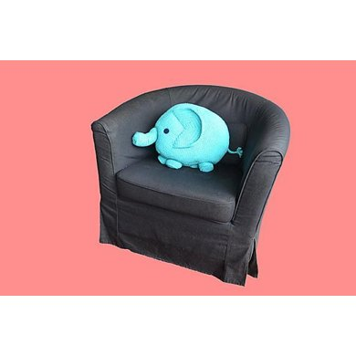 A soft and comfy elephant design cushion perfect for decorating a ... | 390x390