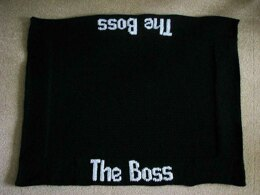 Pet Blanket - The Boss