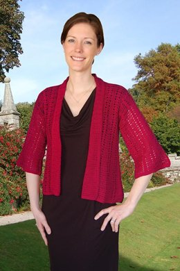 Easy Lace Jacket to Crochet