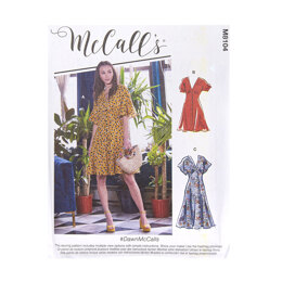 McCall's Misses' Dresses M8104 - Sewing Pattern