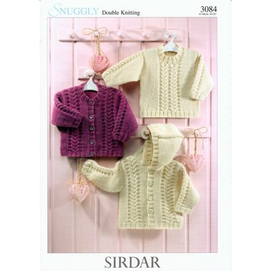 Sweater and Jackets in Sirdar Snuggly DK - 3084