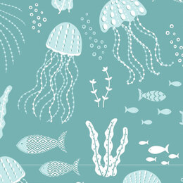 Craft Cotton Company Driftwood - Jellyfish