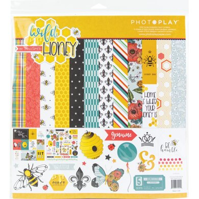 """Photoplay Paper PhotoPlay Collection Pack 12""""X12"""" - Wild Honey"""