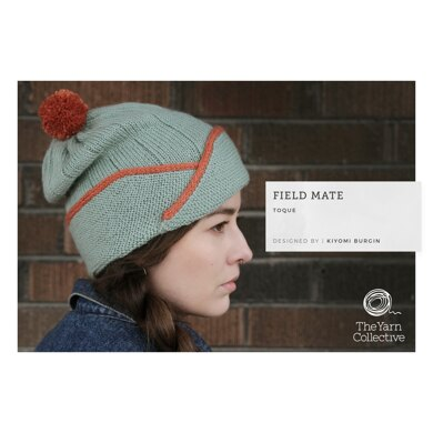 Field Mate Toque by Kiyomi Burgin in The Yarn Collective - Downloadable PDF