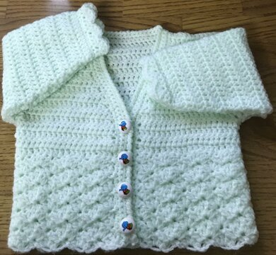 Baby Soft Crochet Cardigan (1019)