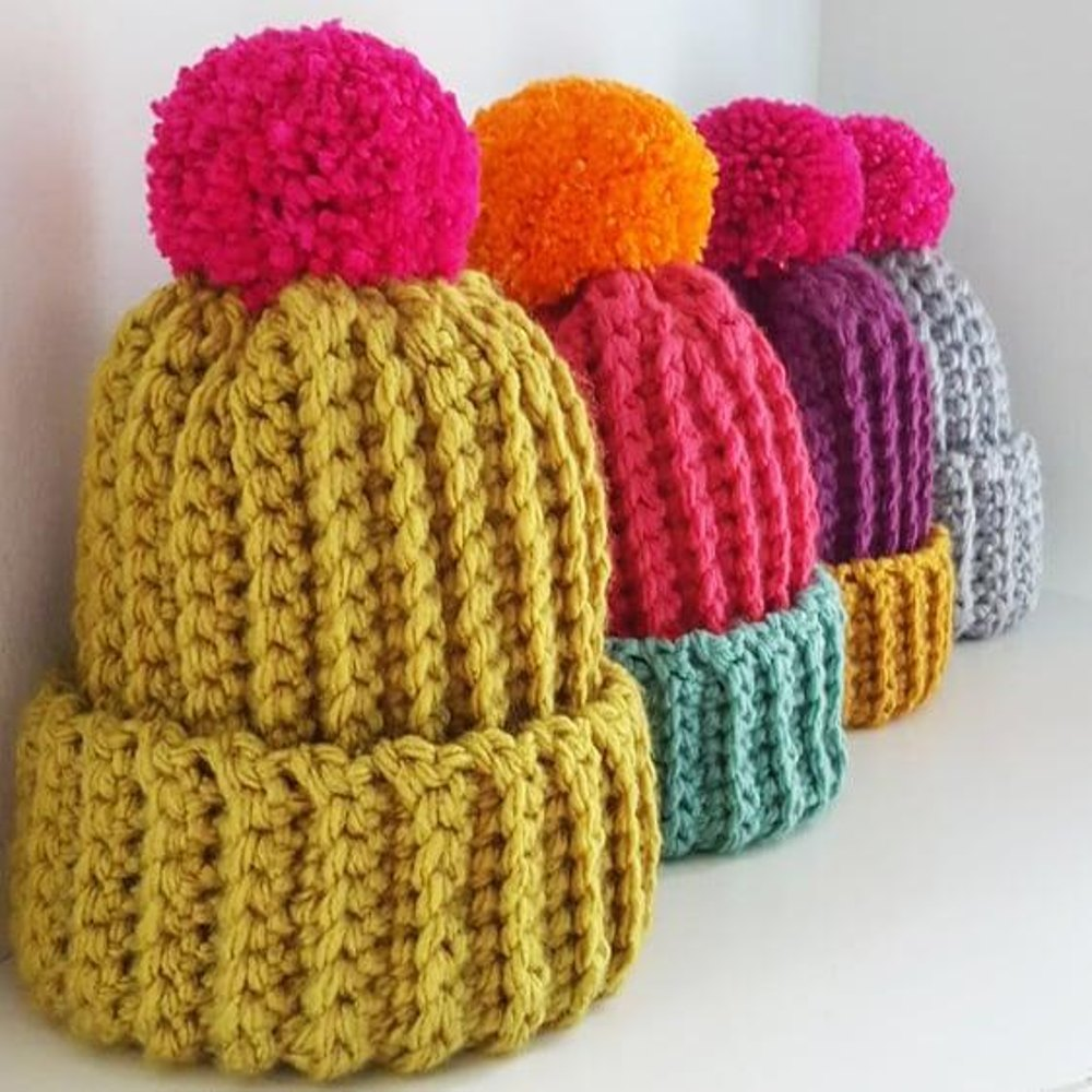 The Nicole Hat Crochet pattern by Crafty Clarence 78890593977