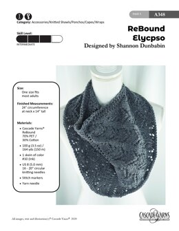 Elycpso in Cascade Yarns ReBound - A348 - Downloadable PDF