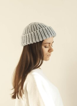 Hipster Hat - Ribbed fisherman beanie + VIDEO
