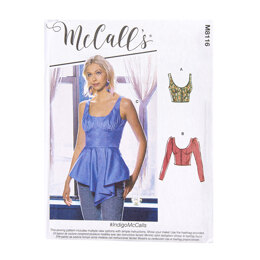 McCall's Misses' Tops M8116 - Sewing Pattern