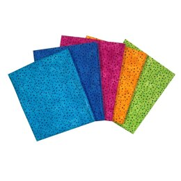 Craft Cotton Company Spot Blender Fat Quarter Bundle