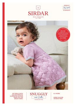 Dress in Sirdar Snuggly 100% Cotton - 5279 - Downloadable PDF