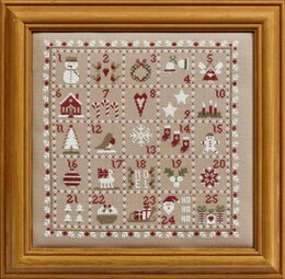 Historical Sampler Company Advent Calendar Cross Stitch Kit