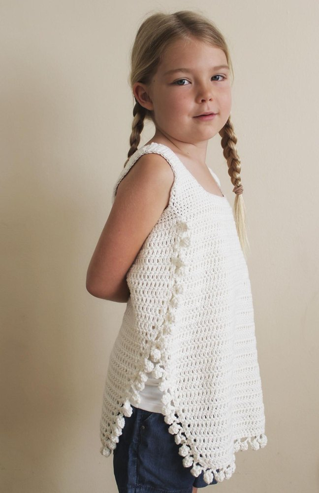 The Maya Tank Top Crochet Pattern By Nicole Knutsen