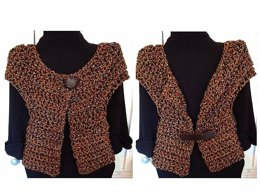 719 CHUNKY QUICK AND EASY BOLERO, age 5 to 4XL adult