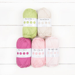 Paintbox Yarns Cotton DK 5 Ball Color Pack Designer Picks