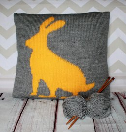 Beginner Harriet the Hare Cushion Cover
