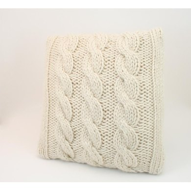 H01 Pillow Cover Chunky Cable