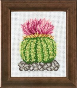 Permin Cactus Rosa Cross Stitch Kit